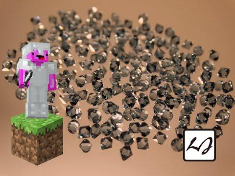 【阿飄日常】如果 Minecraft 世界只有鑽石!