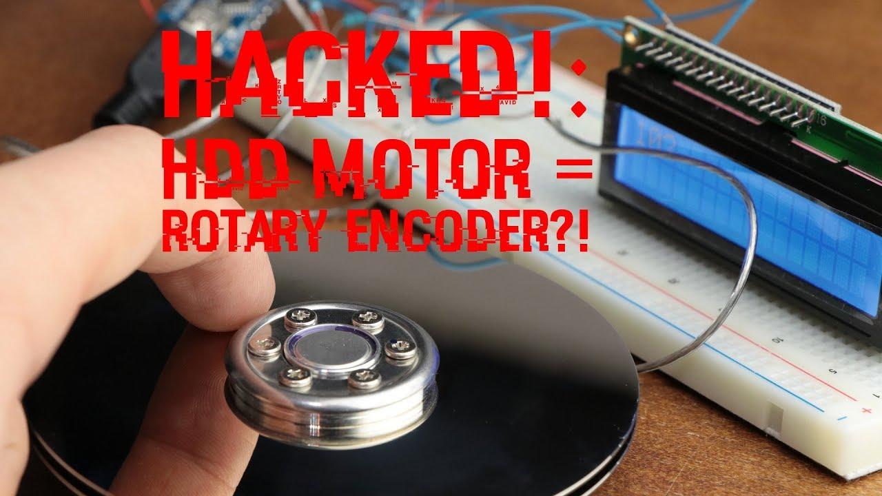 Scrap A Hard Drive, Build A Rotary Encoder | Hackaday