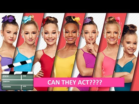 CAN THEY ACT?!?! - Who's the BEST actress on DANCE MOMS!