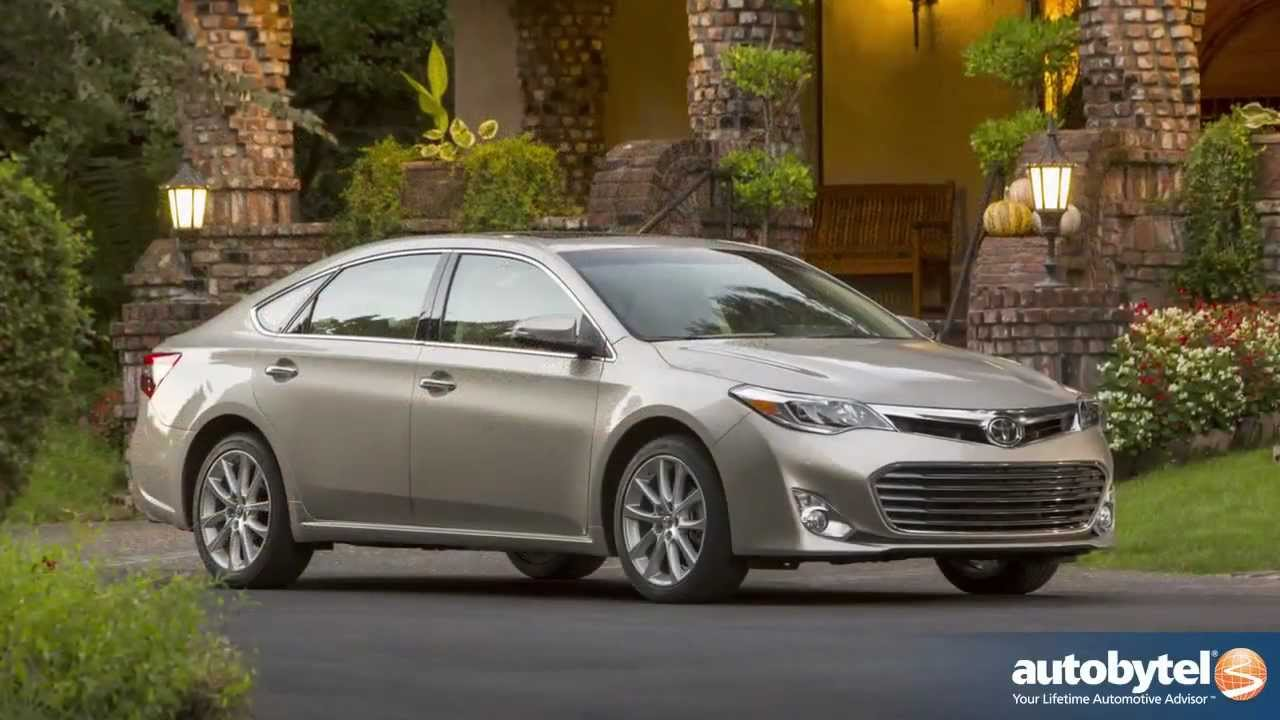 2017 Toyota Avalon Xle Test Drive Full Size Sedan Car Video Review You