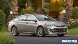 2013 Toyota Avalon XLE Test Drive & Full-Size Sedan Car Video Review