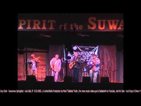Guy Clark - Suwannee Springfest - Live Oak, Fl  3- 22- 2002