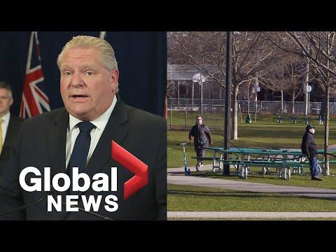 Coronavirus outbreak: Ontario Premier Doug Ford provides update on response to COVID-19   LIVE