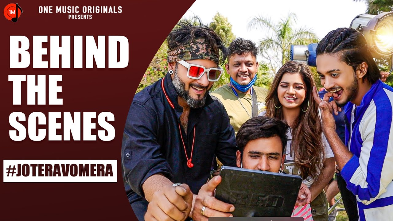 Here is the fun   Behind the scenes   Jo Tera Vo Mera   Mamta Sharma   Hasnain Khan   New Hindi Song
