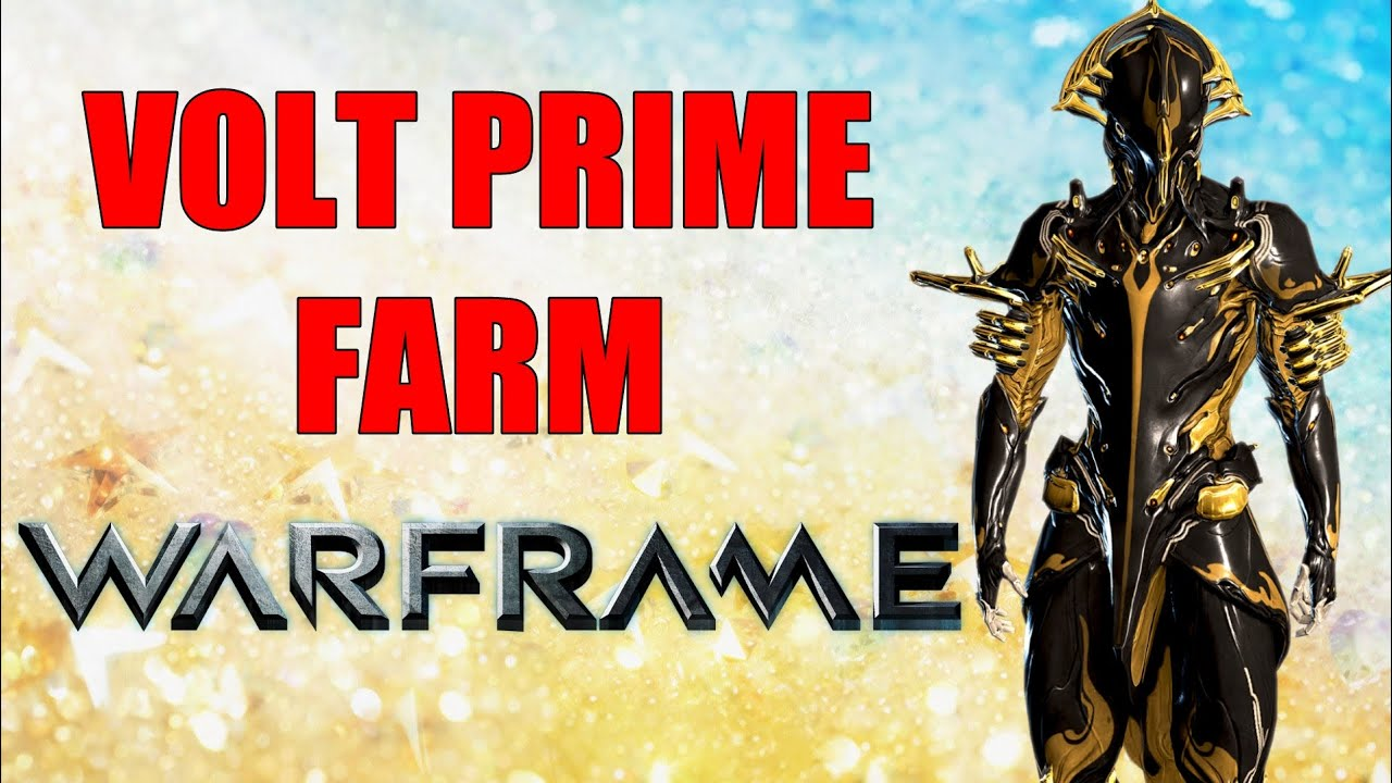 Warframe Tower I Survival Volt Prime Systems Farm Attempt 40 Minutes You