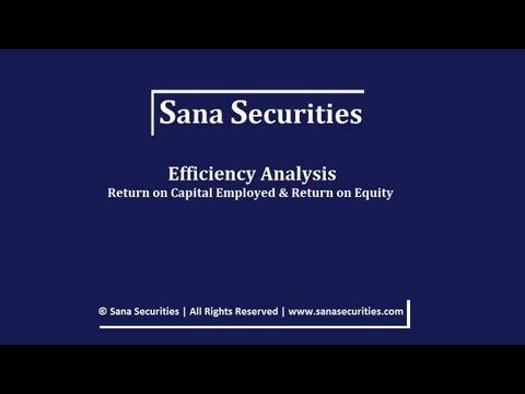 Return on Equity & Return on Capital   Sana Securities