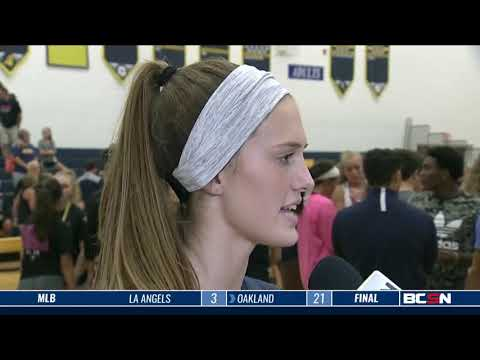 Central Catholic at Notre Dame Academy High School Volleyball