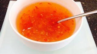 Super Easy Quick Vietnamese Dipping Sauce (nước Chấm Nước Mắm) - Cathyhacooks.com