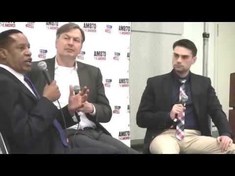 """Obama, Islamism, Iran & Israel""- at PolitiCon: KRLA's Larry Elder, Ben Shapiro, Barak Lurie"