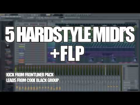 Hardstyle Midi Pack + FLP + Kick | 2017 (Free to use)