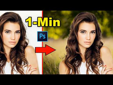 How To Quick Tricks For Background Remove In Photoshop