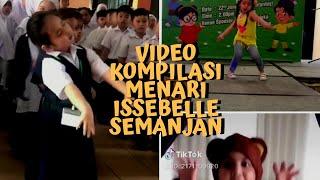 Koleksi video viral Issabelle Semanjan menari - Cute giler!