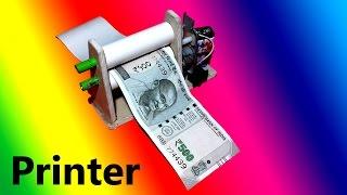 DIY Electric Money Printer