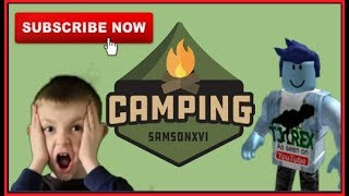 SURVIVE the WILDERNESS | ROBLOX CAMPING