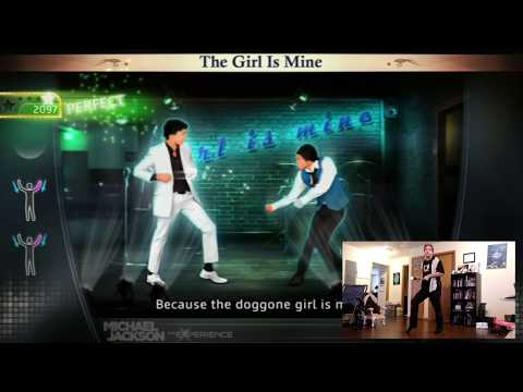 MJ The Experience; The Girl Is Mine - Dance Along