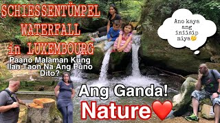 LITTLE SWITZERLAND ( SCHIESSENTÜNPEL WATERFALL ) / TOURIST SPOT HERE IN LUXEMBOURG FAMILY VLOG ❤️