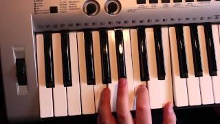 Lambada Piano Keyboard Tutorial / Llorando se fue 1/3 [German] HD - ManholdMedia