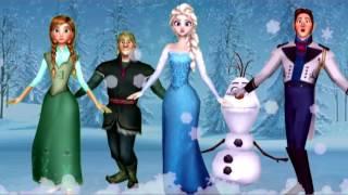 Canzoni Per Bambini e bimbi piccoli - Frozen in Italiano La Famiglia Dito