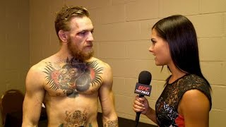 UFC 189: Conor McGregor Backstage Interview