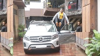 See Varun Dhawan's Unbelivable Fitness Bodybuilding Workout On His Car After Gymming