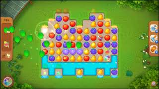 Gardenscapes Level 486 No Booster 🌲  l MiniGames
