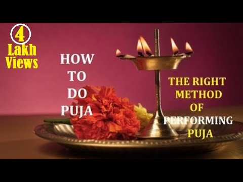 HOW TO DO PUJA AT HOME DAILY - Steps of a Puja - Pooja Vidhi