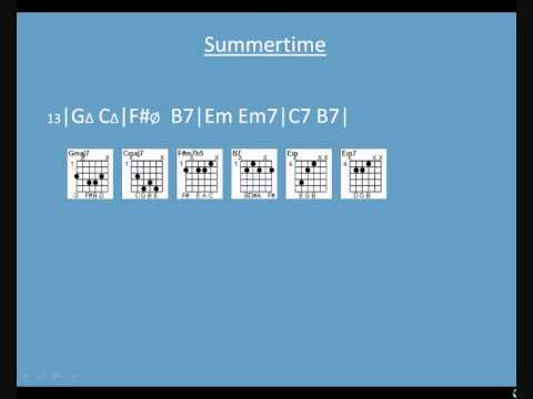 Summertime Part 1: Chords - YouTube