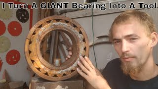 I Turn A Giant Bearing Into A Useful Tool