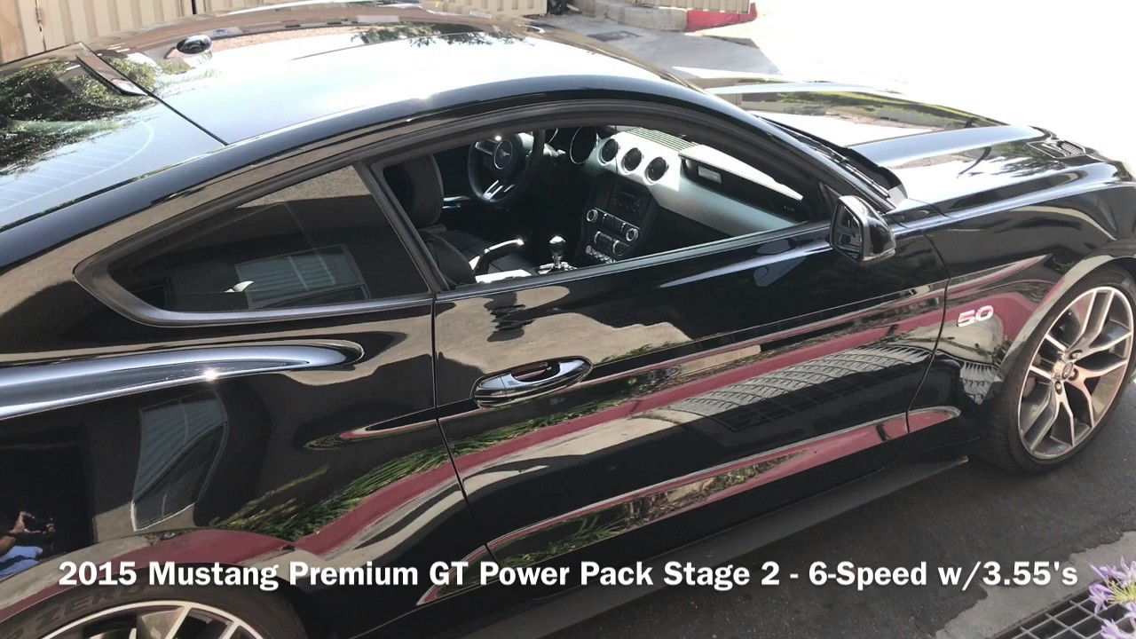 2015 mustang premium gt power pack stage 2