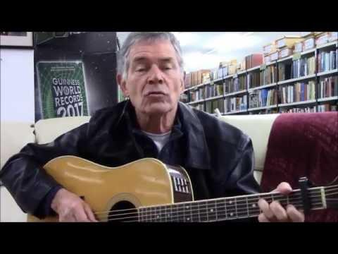 Johnny Duhan sings 'The Voyage' at Kennys Bookshop, 2016