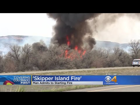 Man Admits To Starting Wildfire That Closed I-70