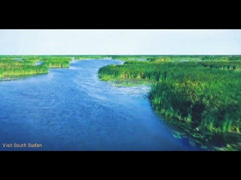 South Sudan Sudd, Africa's largest wetland/swamp