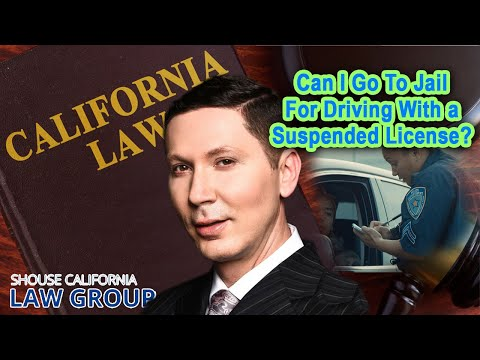 Can I go to jail for driving on a suspended license?