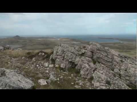 Mount Harriet on the Falkland Islands