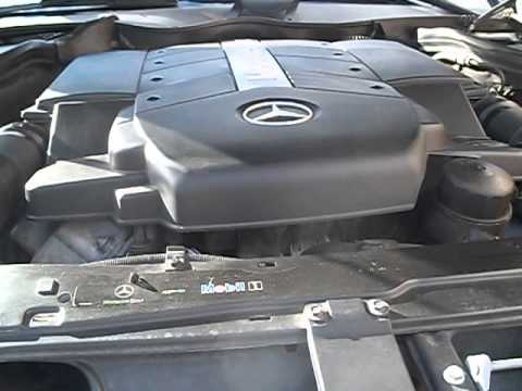How to check for bad engine mounts on a Mercedes Benz by