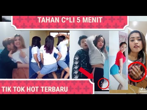 TAHAN C*LI  5 MENIT VIDEO TIK TOK HOT TERBARU BIKIN S*NGE