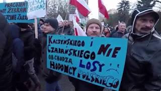 Branża mięsna i hodowcy zwierząt futerkowych pod Sejmem RP
