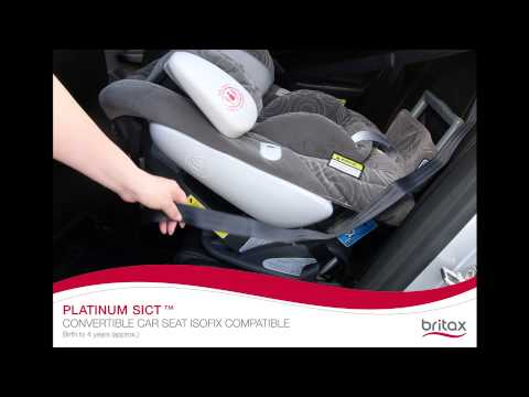Britax Safe-n-Sound Platinum SICT ISOFIX: How To Install Rear-Facing