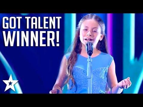 Kid Opera Singer WINS Arab's Got Talent 2017!  | عرض النصف نهائيات –إيمان بيشه