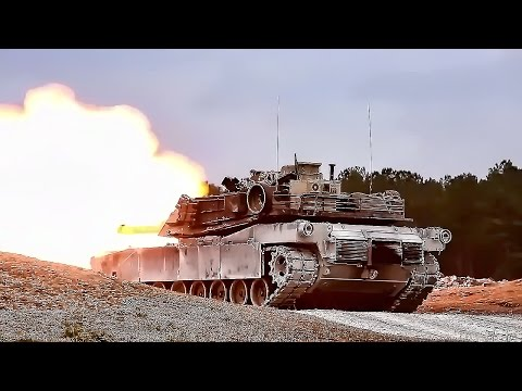 M1A1 Abrams Tank • Live Fire Exercise With GoPro View