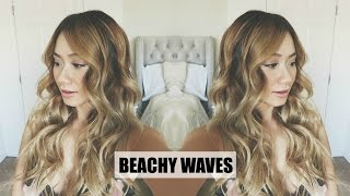 Beachy Waves Tutorial | HAUSOFCOLOR Thumbnail