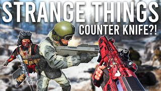Strange things you can do in Call of Duty Warzone ( Counter Knife )