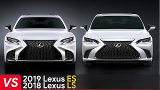 2019 Lexus ES Vs 2018 Lexus LS ► See The Differences