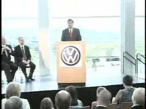 Volkswagen Picks Chattanooga Tennessee Press Conference 1