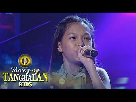 Tawag ng Tanghalan Kids: Trisha Karylle Bugayong | Ikaw Ay Ako