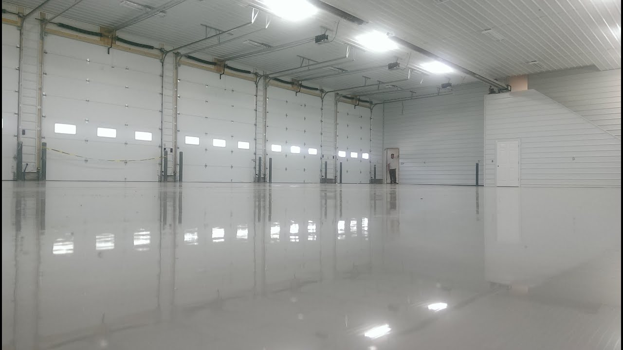 Epoxy Garage Fire Station Floor Crocker Mo Lake Of The