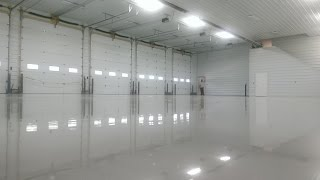 Epoxy Garage Fire Station Floor Crocker Mo Lake Of The Ozarks