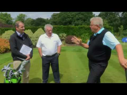 A golf lesson with Colin Montgomerie