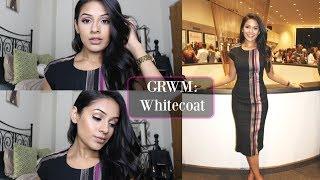 GRWM White Coat | Subtle Glam Look