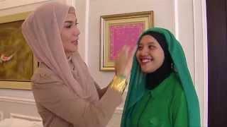 """Selebritips - Marini Zumarnis """"Tips Cara Memakai Jilbab Yang Simple"""""""